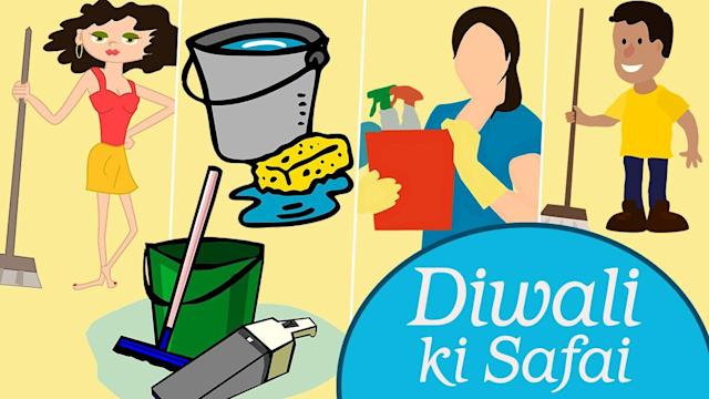 Cleaning Tips for Diwali